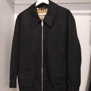 Burberry Collared Harrington Jacket